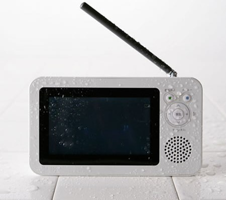 Bath With Portable Waterproof TV