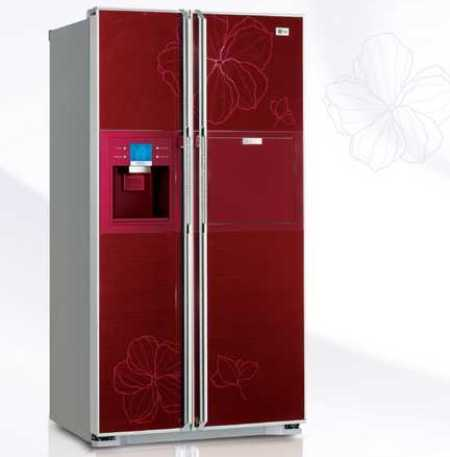 Swarovski Caked LG Refrigerator