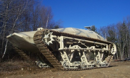 Superfast Rip Saw UGV Tank Can Be Yours for $200,000
