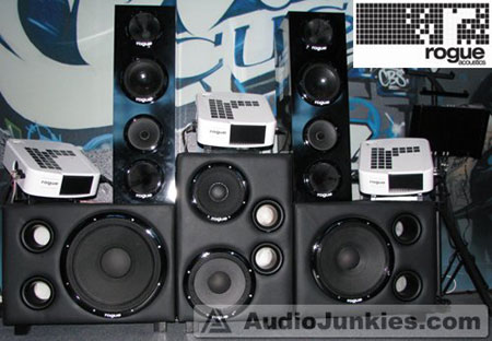 rogue acoustics World's Most Expensive Car Audio System: RA:1K
