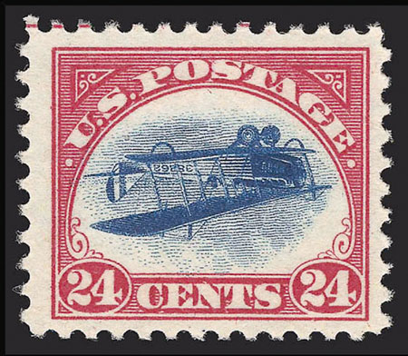 Inverted Jenny: Erroneous Airmail Stamp Fetches $977,500