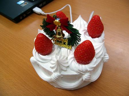 $455 USB Christmas Cake