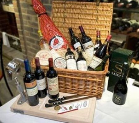 World's Most Expensive Xmas Hamper: £45000 Vivat Bacchus Hamper