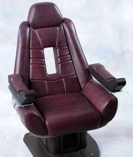 "Jean Luc Picard's ""Enterprise E"" Command Chair Sells for $45000"
