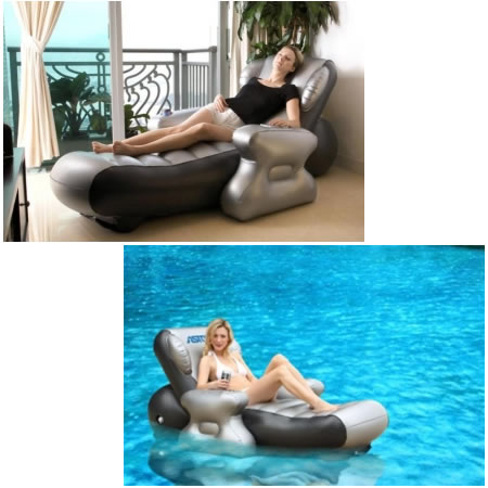 Portable Inflatable Multimedia Massage Chair: Astone Sit N Joy