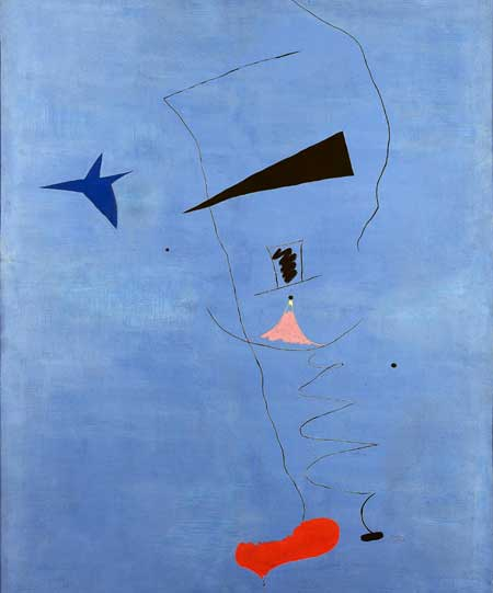 Miro's Blue Star Sets Record; Painting Fetches $16.7 mn at Paris Auction