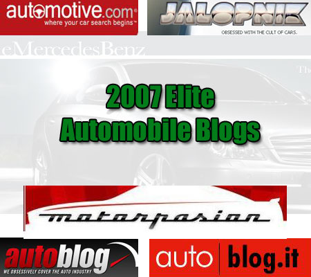 cars elite blogs Top 125 Elite Blogs