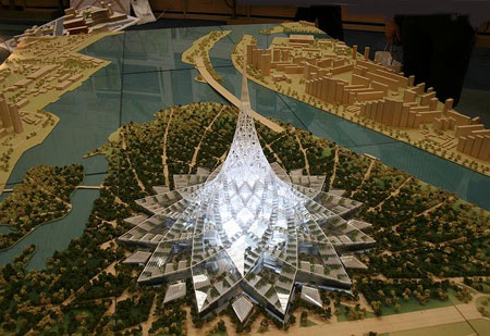 Crystal Island, Would-be World's Biggest Building in Moscow