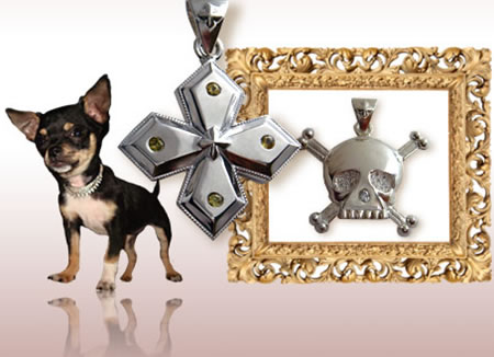 Gothic Dog Unveils Diamond Jewelry for Your Poochies
