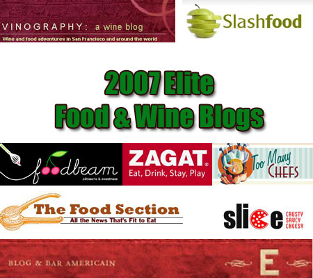 foodwine eliteblogs Top 125 Elite Blogs