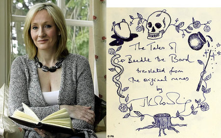 JK Rowling Magic Tales Sells For $3.98 mn