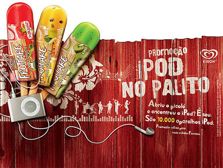 Popsicles Or Frozen Apple iPods? Ask Ice Cream Company!