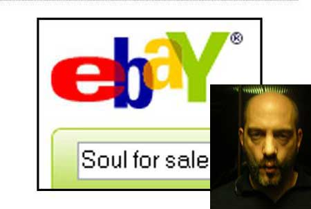 Man to Sell Soul on eBay for $1 mn
