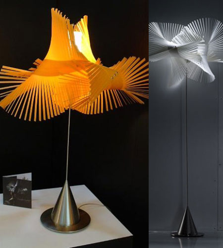 Flying Mikado Lamps Flaunt Its Wings