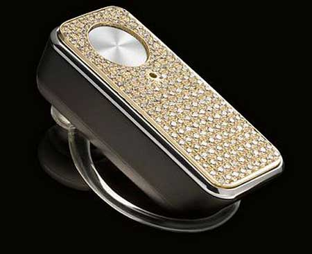 MOTOPURE H12 Bluetooth Headset Bathed in Diamond