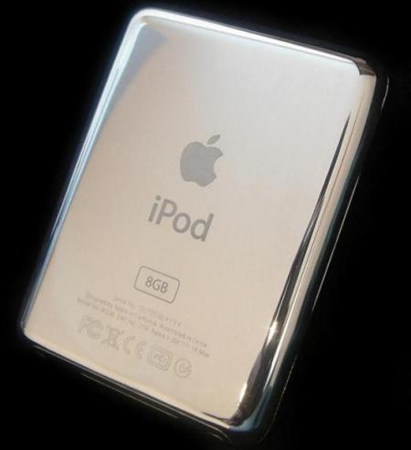 World's First Platinum Apple iPod Nano