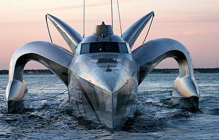 Eco-Boat to Set World Speed Record