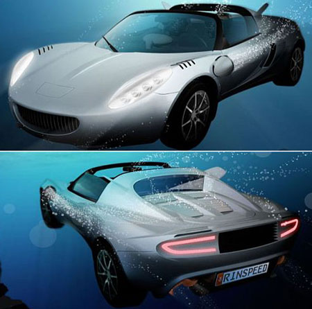 sQuba to Offer Underwater Drive in 2008; Still A Concept