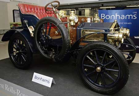 World's Oldest Rolls-Royce Is Most Expensive Ever, Sold For £3.5 mn