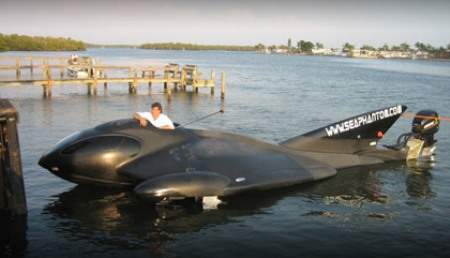 $500,000 SeaPhantom: A PowerBoat-Aircraft Hybrid