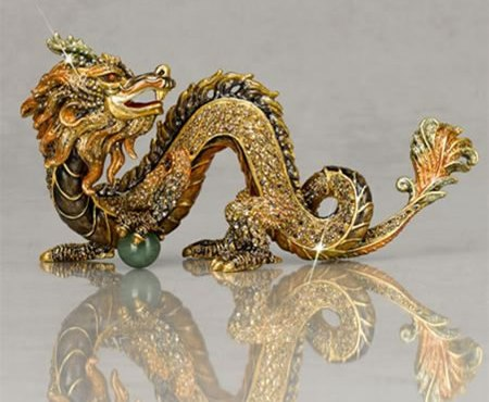 """Shen Lung"" Dragon Figurine"