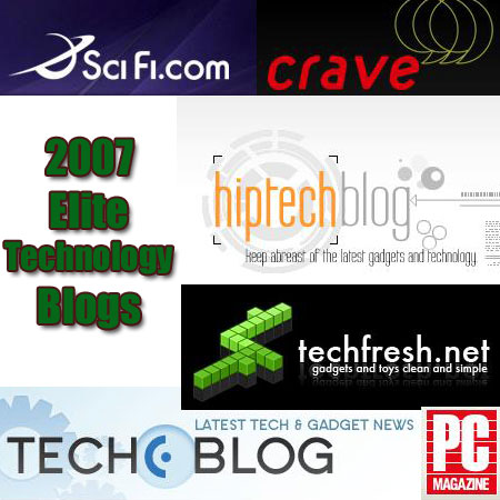 technology Top 125 Elite Blogs