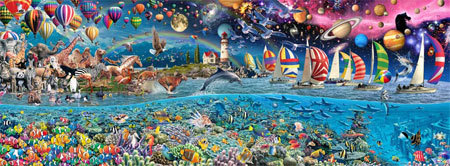 Vida: World's Largest Jigsaw Puzzle With 24,000 Pieces