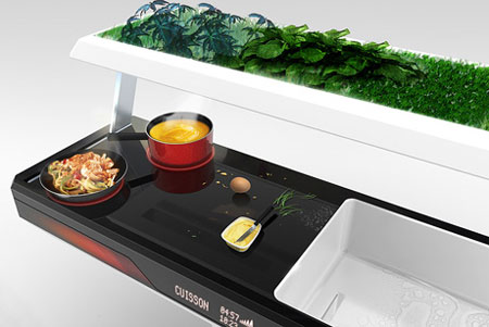 Aion: Futuristic Kitchen