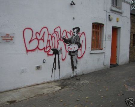 Banksy's Portobello Road Artwork Demands £1,000,000