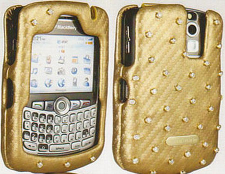 Diamond-Studded Blackberry Case