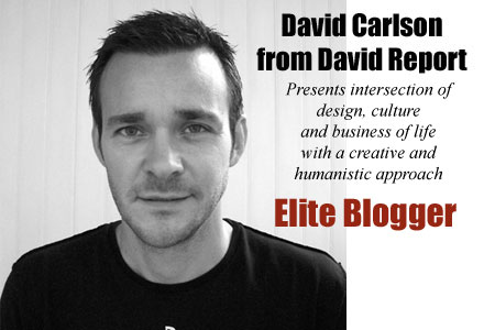 Elite Blogger: Rendezvous with David Carlson