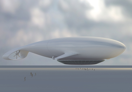 Manned Cloud: Floating Hotel Takes You to Sky