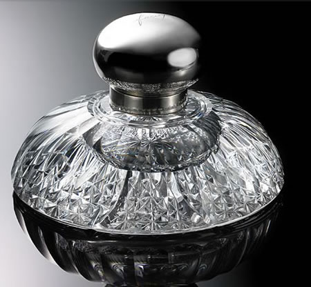 $9,200 Silver and Crystal Inkwell from Ralph Lauren