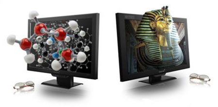 Pavoline's Unveils New Generation 3D Displays @ CES 2008