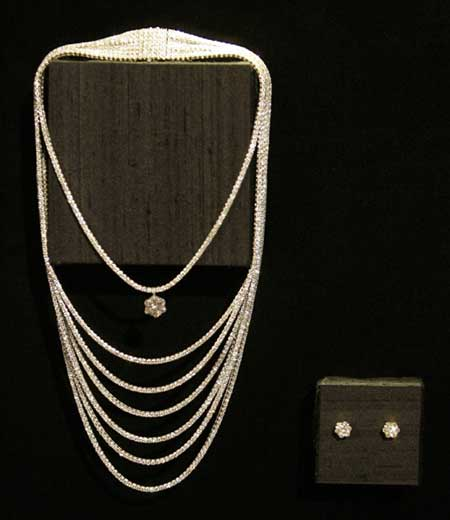 Montblanc Flaunts $5mn Necklace @ 7th Annual Awards Season Diamond Fashion Show Preview