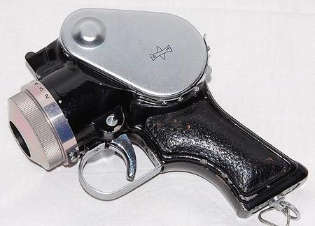 $25,000 Pistol Camera by Mamiya