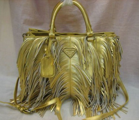 prada fringe leatherbag Elite Handbag: Fringe Leather Tote by Prada