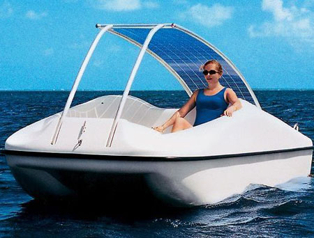 Solar Powered Personal Boat
