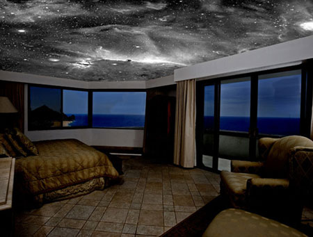 Lustrous Luxury: Sleep Under the Sparkling Blanket of Stars