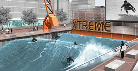 £20mn World's First Outdoor Artificial Surfing Machine