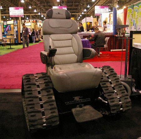 $15,000 Tank Chair for Special People @ CES 2008