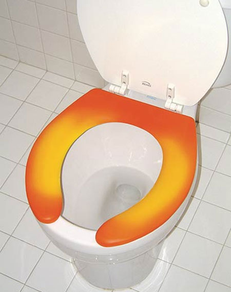 toilet seat Thermochromic Toilet Seat