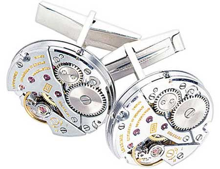 Circular Watch Cufflinks