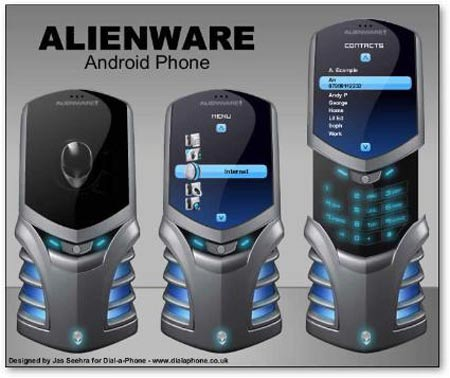 alienware mockup Dell Eyes Alienware Phone Mock Ups, Replicates PC
