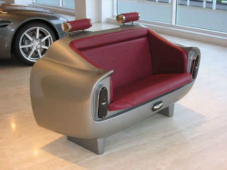 Aston Martin DB6 Couch For Aston Fans