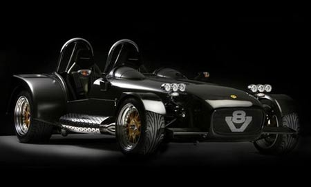 Caterham RS Seven: Racing Beast Two-Folds Bugatti Veyron's Power-to-Weight Ratio