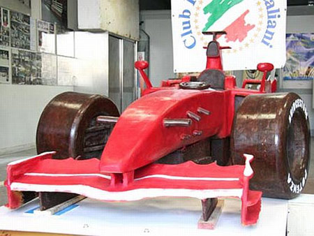£12,000 Ferrari F1 Prototype Bathed In Chocolate