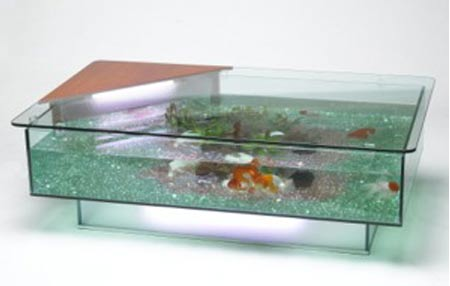 Acrylic Coffee Table on The Tables Or Rather Aquariums Are Retailed At