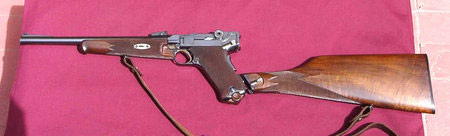 World's Most Expensive Handgun: .45 Luger Carbine 45 Luger Carbine, handgun, Georg Luger, GL