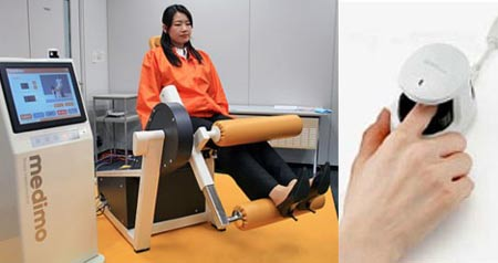 Medimo: Fitness Machine Accessible On Finger Vein Readers